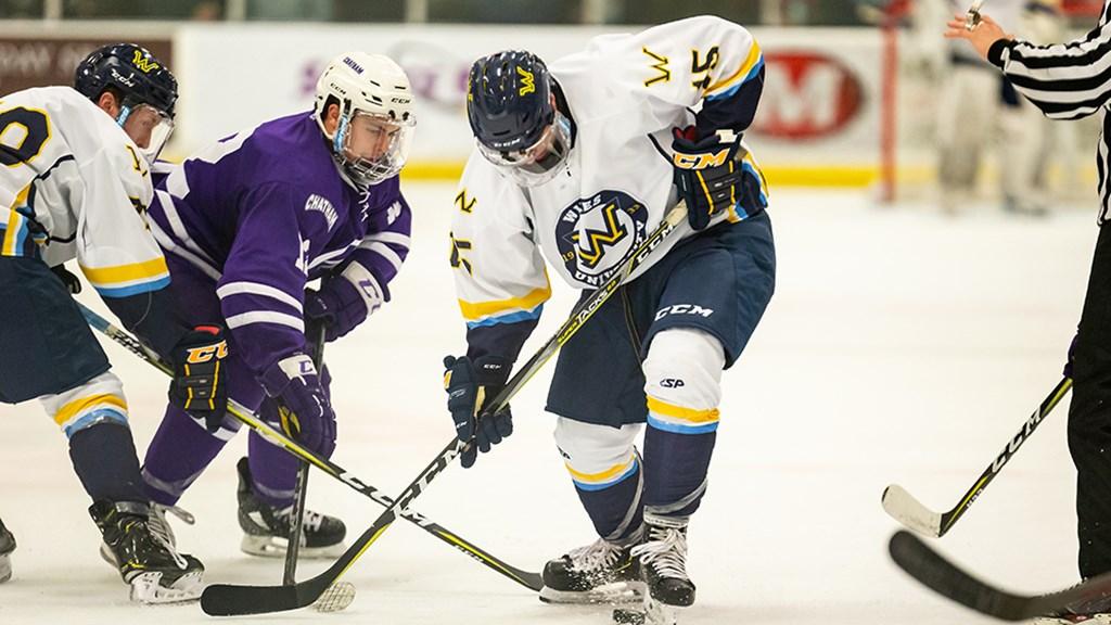 Special Teams Key Wilkes Men S Ice Hockey Comeback Victory At